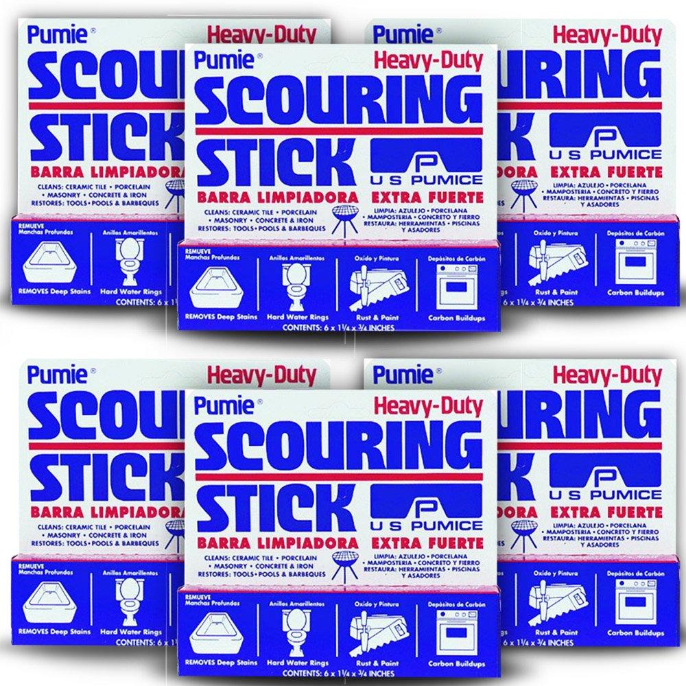 U.S. Pumice 1001 Scouring Stick (6 Pack) by U.S. Pumice