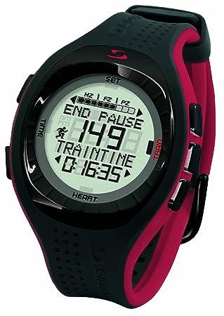 PC 9 - Reloj digital, color negro y rojo: Amazon.es: Deportes y aire libre