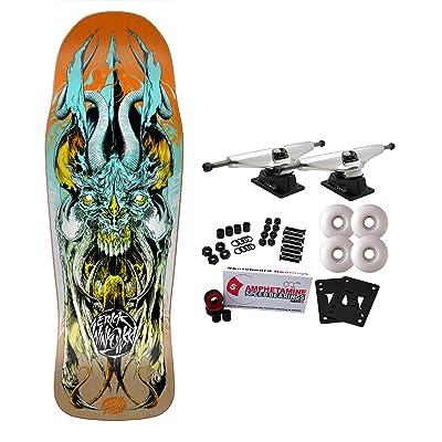 Santa Cruz Skateboards Complete VX Winkowski Primeval Sunrise Quad X Technology : Sports & Outdoors
