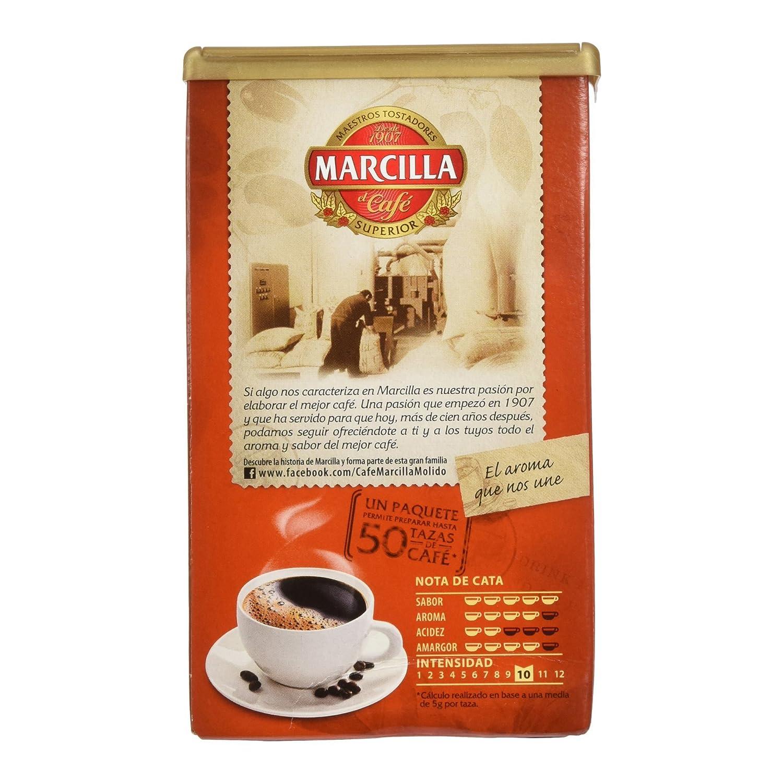 Marcilla Molido GRAN AROMA MEZCLA - [Pack de 3]: Amazon.es: Alimentación y bebidas