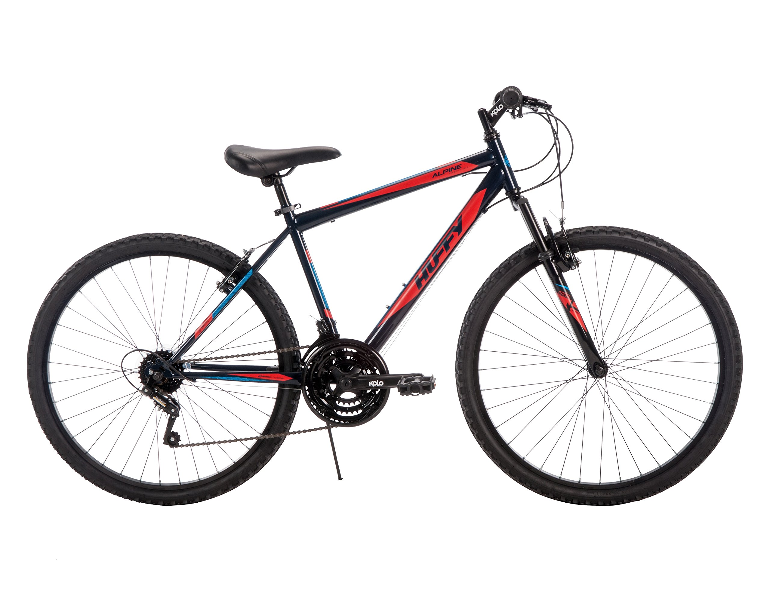 26'' Huffy Men's Alpine Mountain Bike, Navy Blue