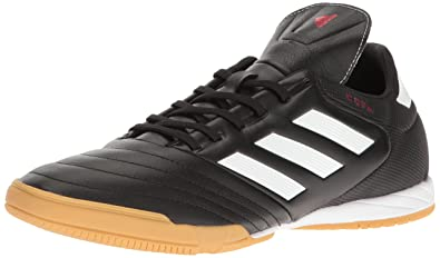adidas Originals Men's Copa 17.3 Indoor Soccer Shoe, Black/White/Black, (