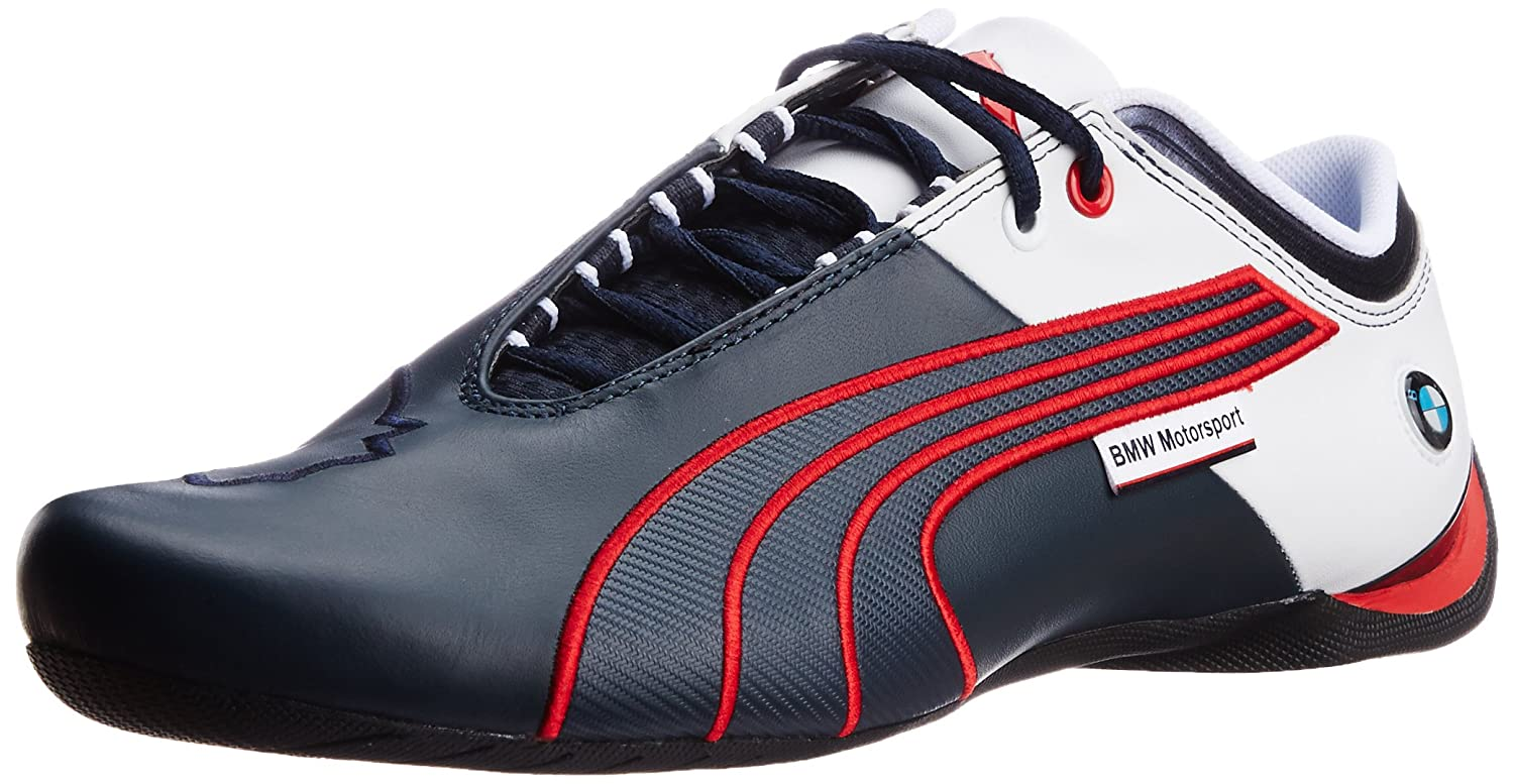 Puma bmw motorsport future cat m1 leather blueredwhite men