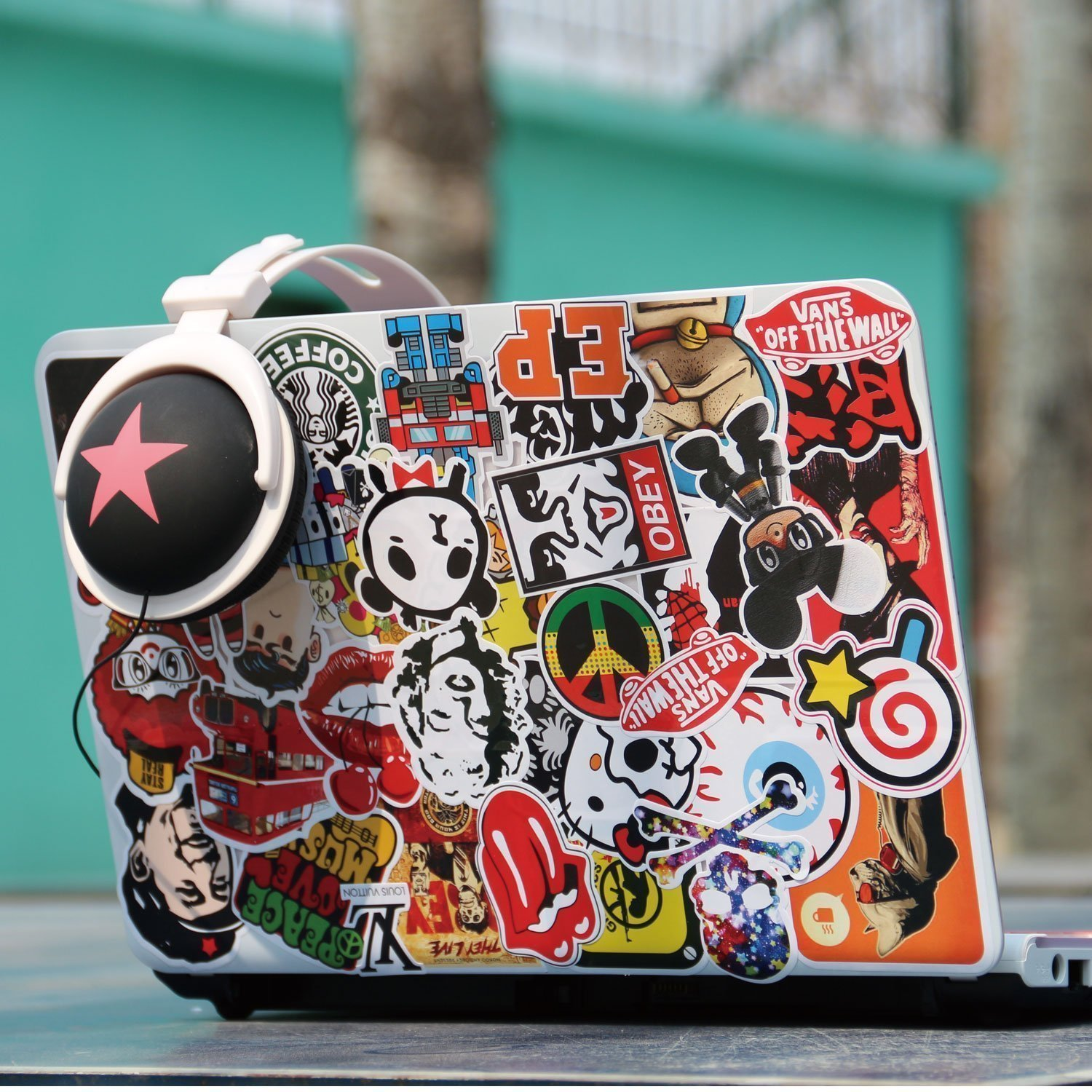 WayOuter Sticker Pack 100pcs Graffiti Sticker Decals Vinyls for Laptop,Kids,Cars,Motorcycle,Bicycle,Skateboard