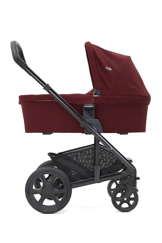 Ausstellungsstück Joie Chrome DLX Cranberry Kinderwagen Buggy umsetzbar B-Ware