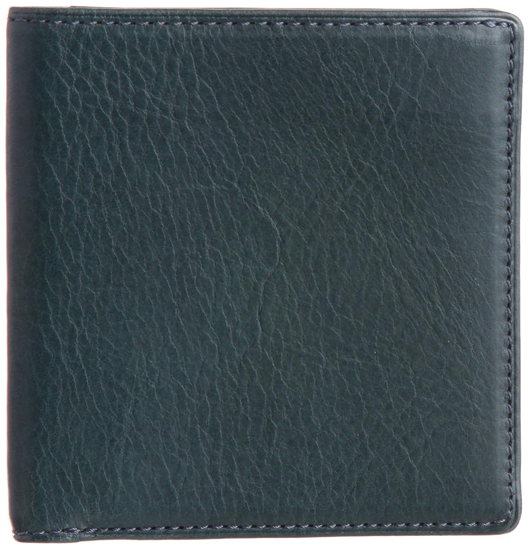 [スィンリー] THINly 財布 メンズ 二つ折り 薄型 日本製 B00ES5BGF6 ダークグリーン ダークグリーン