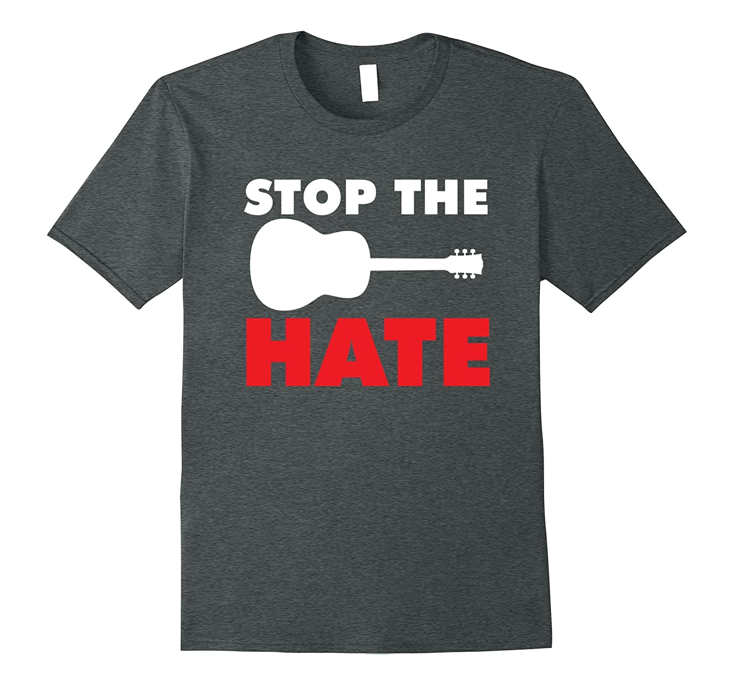 Stop the Hate T-Shirt - Country Music Tee-Rose