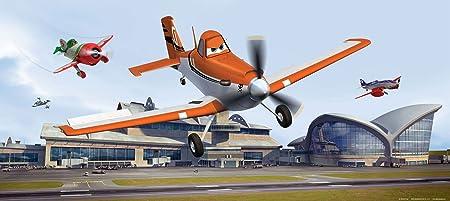 Disney Ag Design Planes Landing Photo Mural Wallpaper For Childrens