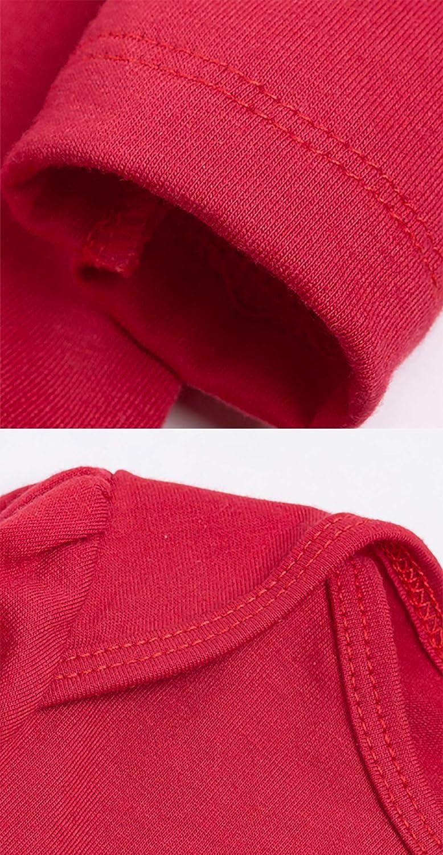 URBEAR B/éb/é Filles D/éguisement No/ël Barboteuse Robe Tenues Ensemble 5 pc p/ère No/ël 3-18 Mois
