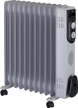 Jata R111 Radiador de Aceite con 11 Elementos caloríficos, 2500 W, Blanco: Amazon.es: Hogar