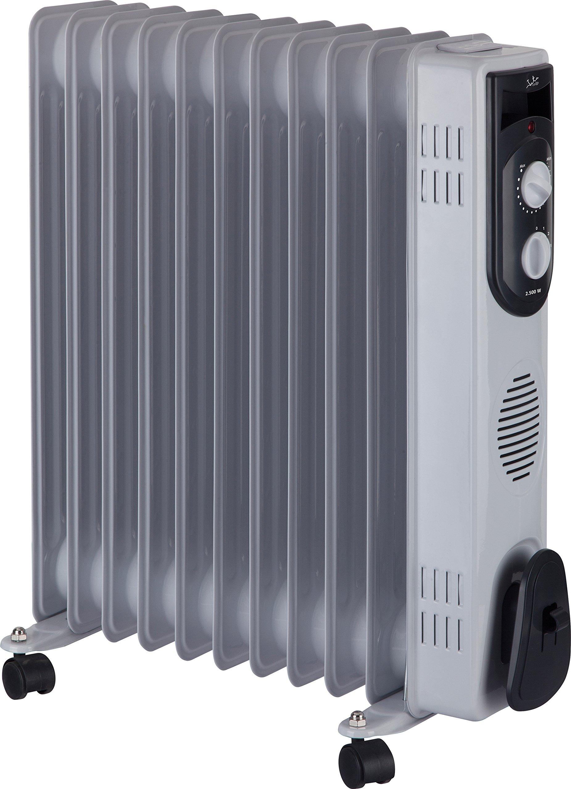 Jata R111 Radiador de Aceite con 11 Elementos caloríficos, 2500 W, Blanco product image