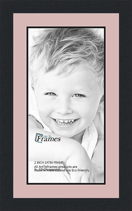 Amazon.com - 12x24 / 12 x 24 Picture Frame Satin Black .. 2\'\' wide ...
