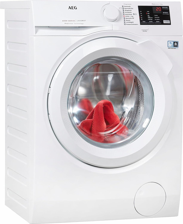 AEG lavadora l6fb48fl, a + + +, 8 kg, 1400 U/min - 4 años de ...
