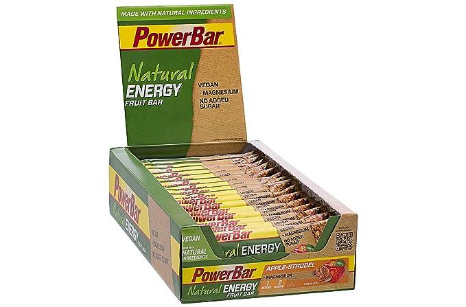 PowerBar Natural Energy Fruit - Nutrición deportiva - Apple Strudel 24 x 40g verde/naranja 2018: Amazon.es: Salud y cuidado personal