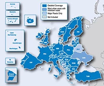 Garmin Europe Map Sd Card.Garmin City Navigator Europe Map Ntu Sd Micro Sd Card Amazon Ca