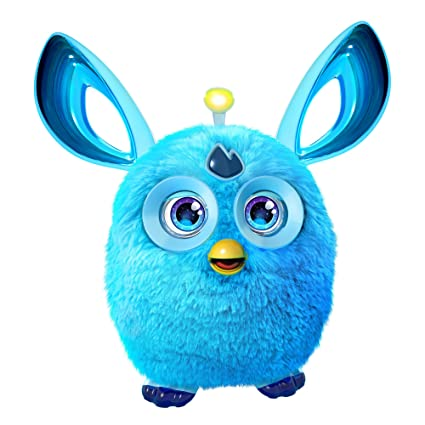 Electronic, Battery & Wind-up Electronic & Interactive Furby Blue Interactive Electronic Pet Toy Battery Operated Hasbro 2012