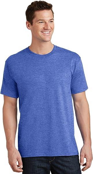 Medium Heather Royal* 5.4-oz 100/% Cotton T-Shirt Port /& Company/®