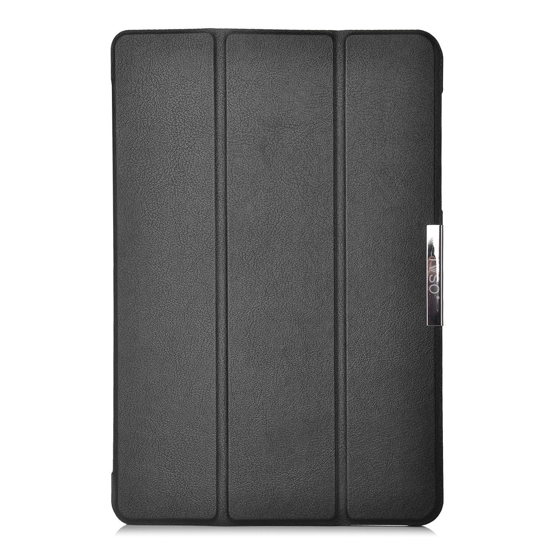 KuGi Asus Zenpad Z10 ZT500KL case - Ultra Lightweight Slim Smart Cover Case for 9.7 inch ASUS Zenpad Z10 ZT500KL Verizon 4G Let Android 6.0 Tablet (Black) by KuGi (Image #4)
