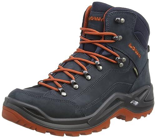812527a219e Lowa Men's Renegade GTX Mid High Rise Hiking Boots