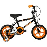 Sonic Scamp kids 12 inch wheel Bike, Black