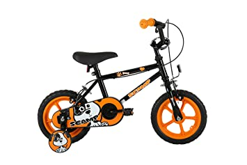 Sonic Scamp Kids Kids Bike Black 1 Speed Mag Style Wheels Fully