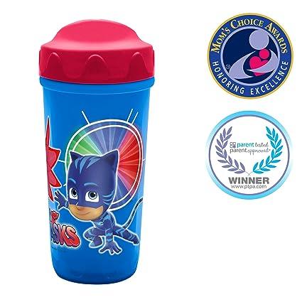 Zak Designs PJMB-M010 Toodlerific Sippy Cups, 8.7 oz, PJ Masks