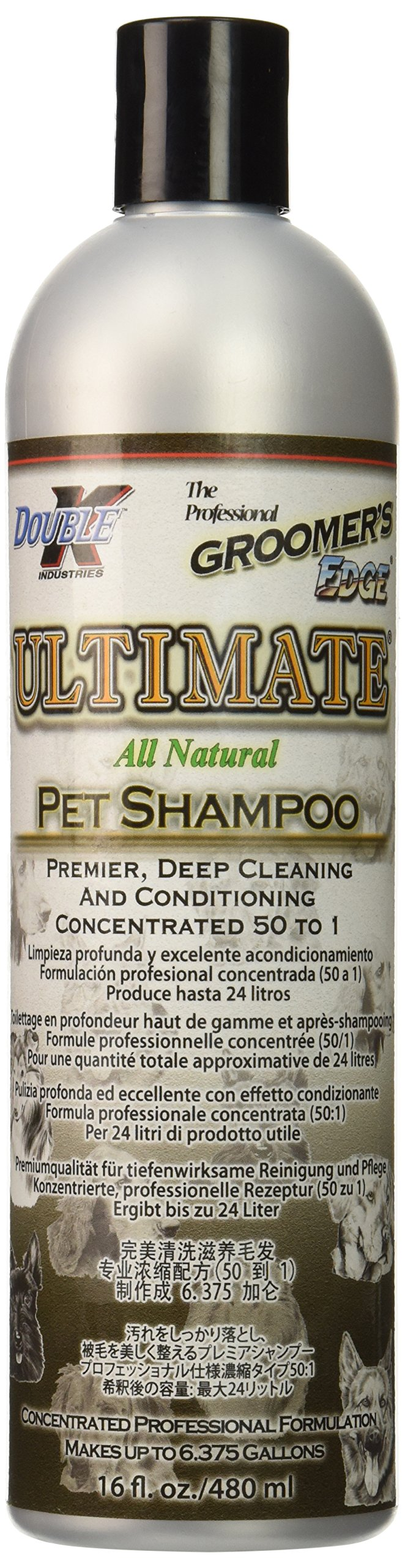 Groomers Edge Ultimate Pet Shampoo, 16-Ounce