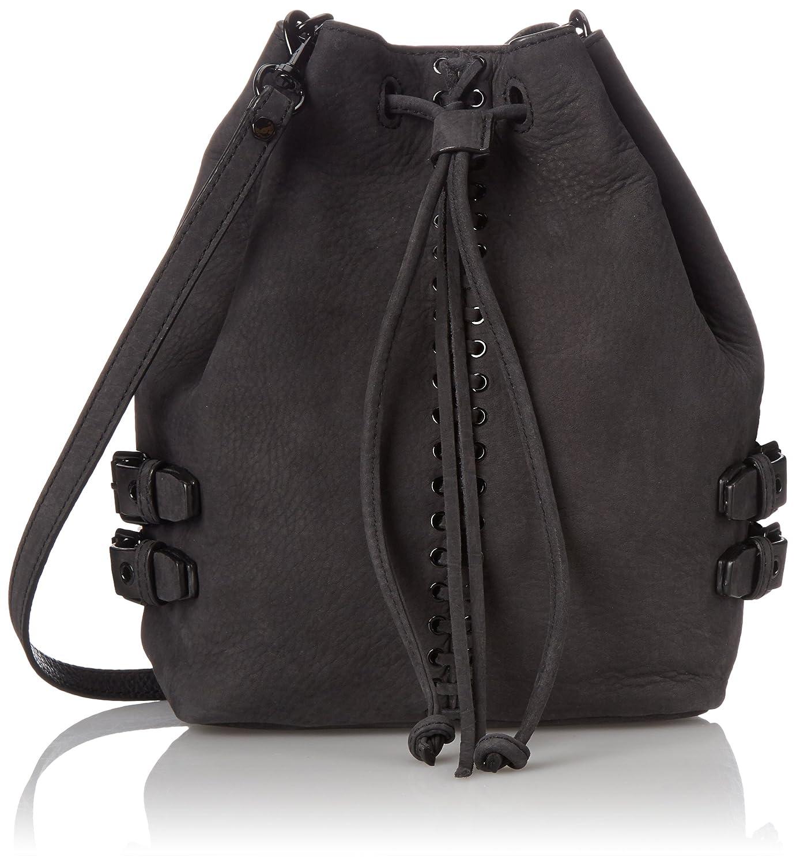 Rebecca Minkoff Moto Bucket Shoulder Bag, Black, One Size