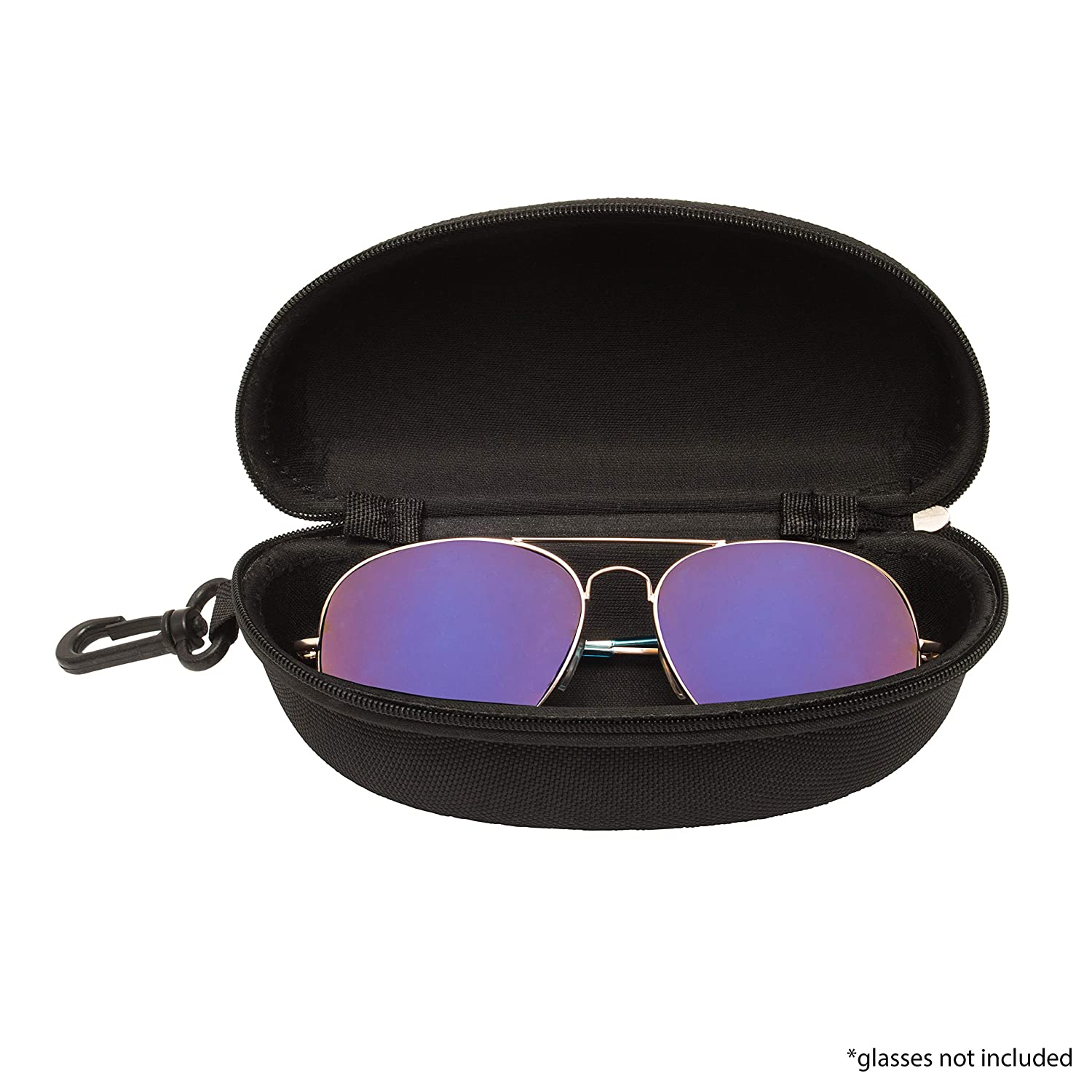 set of 4 outdoor and Indore use, Eyeglass and sunglass EVA case with zipper for man woman