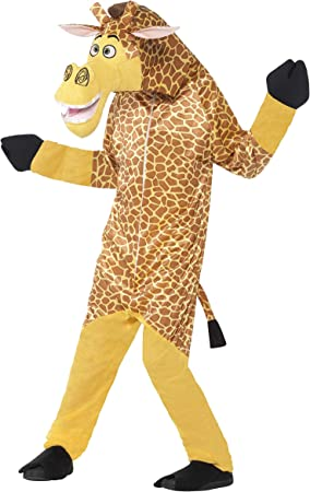 Smiffys - Disfraz infantil Melman la jirafa de Madagascar, color ...