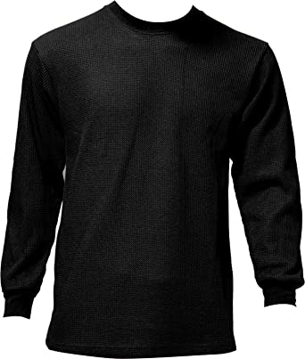 Men's Thermal Top Warm Winter 100% Cotton Many Colors