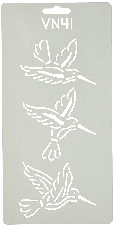 Quilting Creations Pat's Hummingbird Quilt Stencil VN41QC