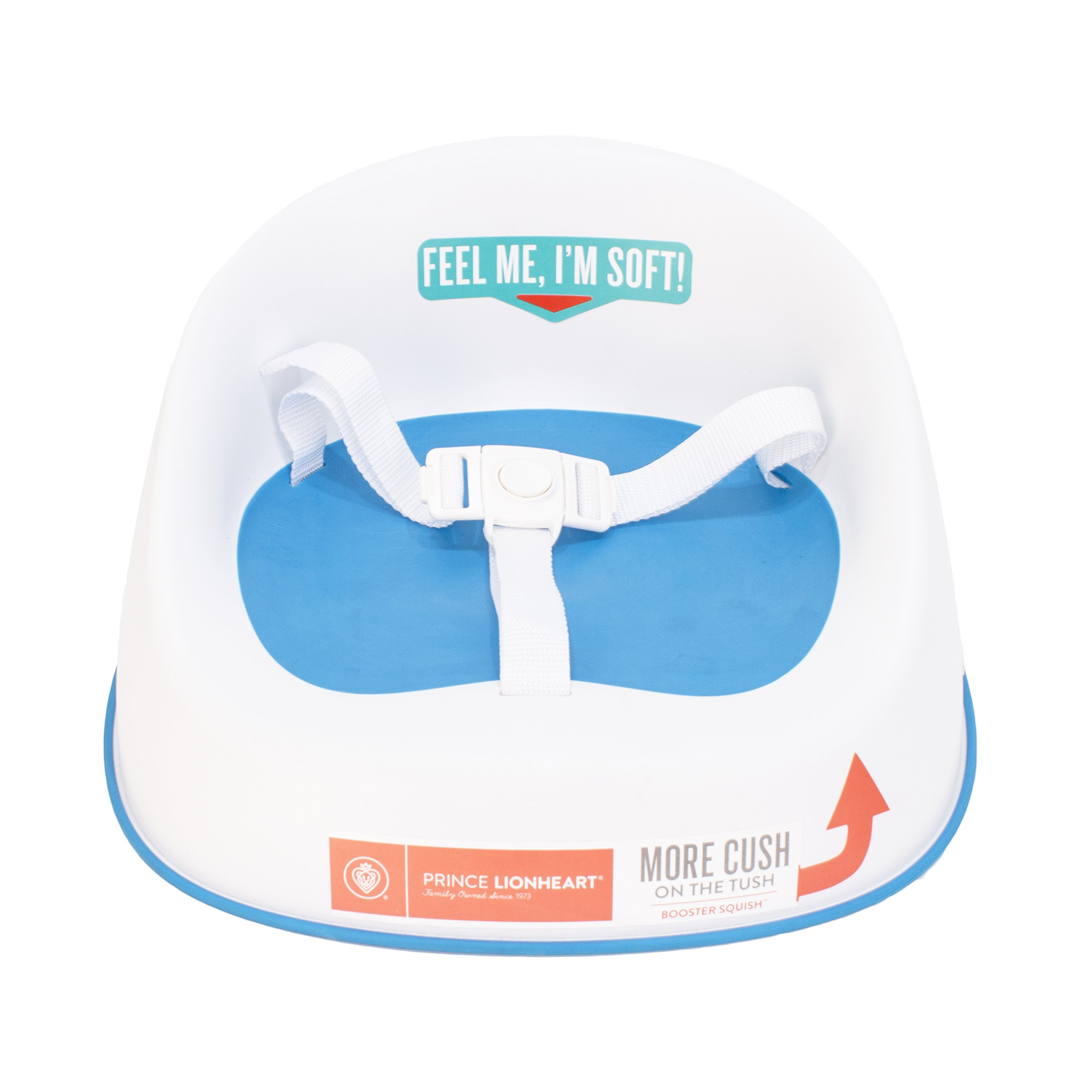 Prince Lionheart Squish Booster Seat, Berry Blue by Prince Lionheart