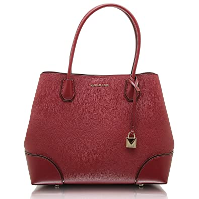 c48e5e4a57f8 Michael Kors Women's Top-Handle Bag Red Maroon: Amazon.co.uk: Shoes ...