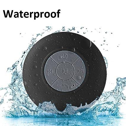 514254b88ff Shower Speaker Bluetooth Waterproof BONBON Water Resistant Handsfree  Portable Wireless Shower Speaker