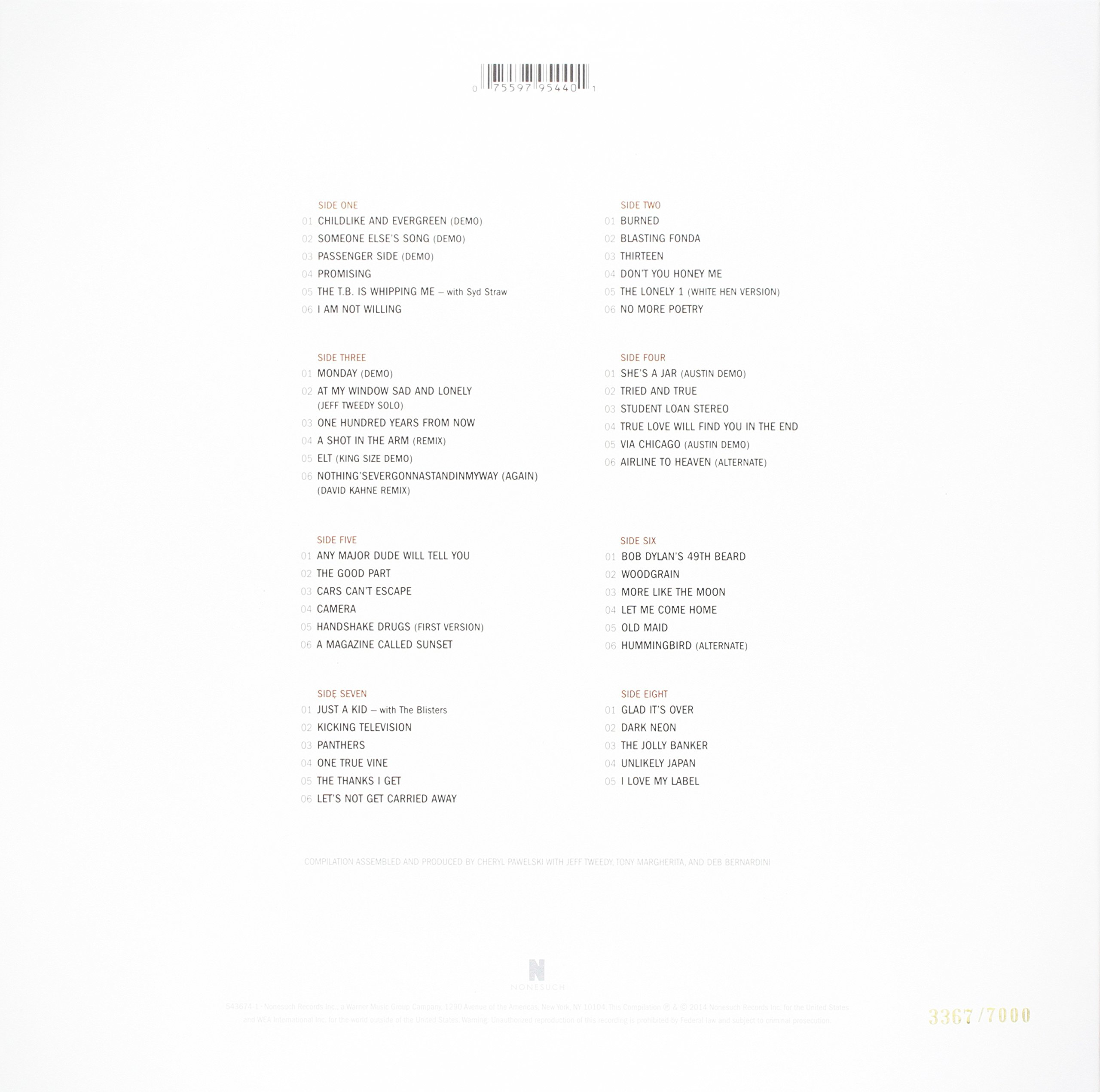 Alpha Mike Foxtrot: Rare Tracks 1994-2014 (4LP w/Digital Download)