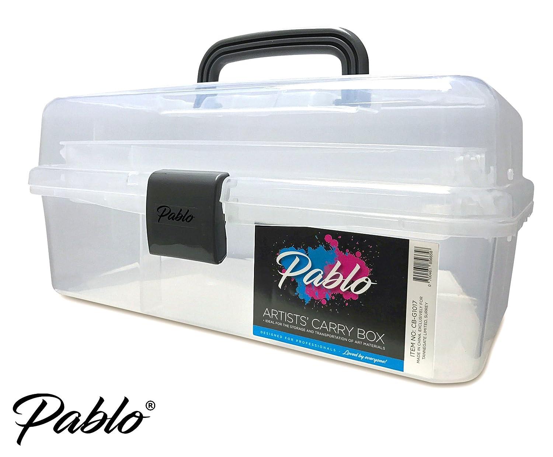 Pablo® – Artists Carry/Caddy Box (durchscheinend weiß) – Ideale ...