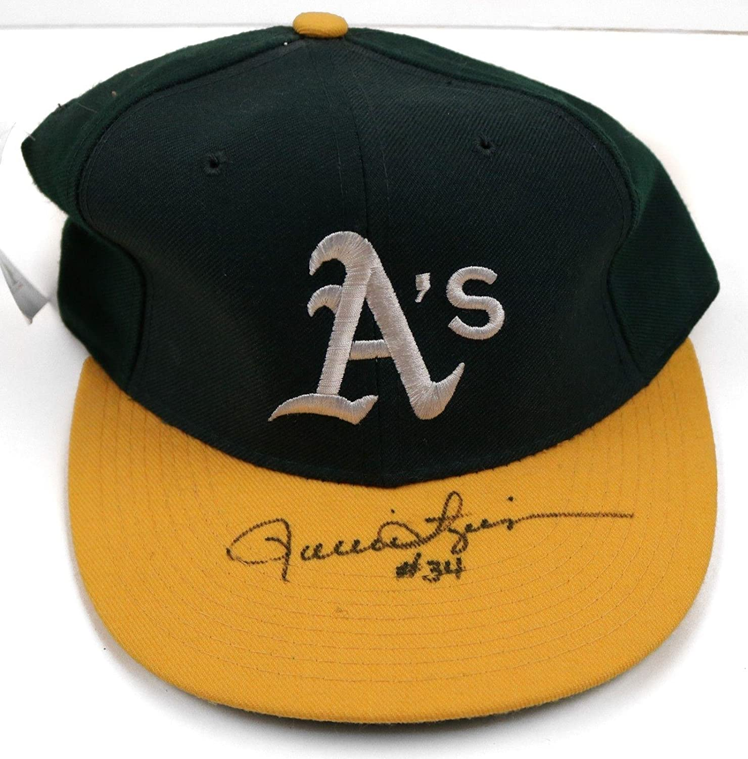 Rollie Fingers A s HOF Signed MLB New Era Diamond Collection Hat - COA -  JSA Certified - Autographed Hats at Amazon s Sports Collectibles Store 438fb4177c8