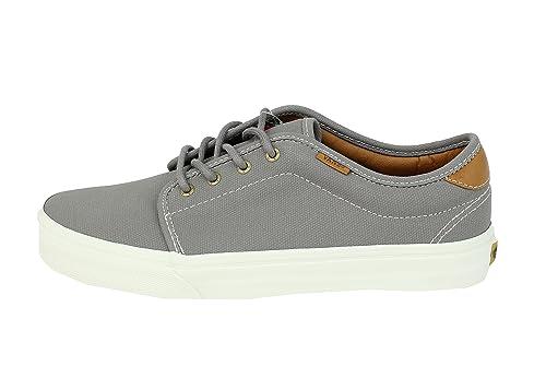 fa17058be8 Vans Men s 159 Vulcanized (Coated Canvas) Cloudburst Sneakers VN-0RQNDTJ   Amazon.ca  Shoes   Handbags