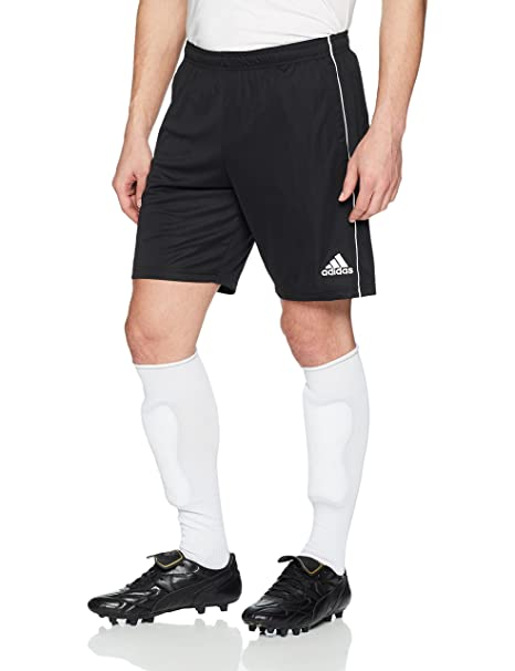huge discount 806d3 5b766 adidas Mens Core18 Training Shorts, BlackWhite, 3X-Large
