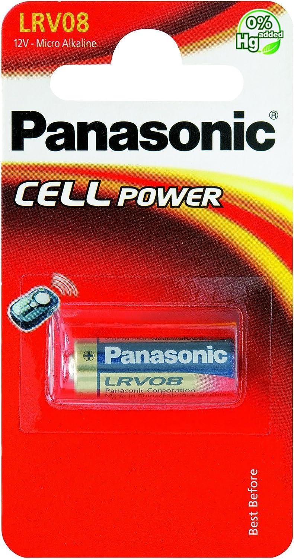 Panasonic PLLRV08 - Pila Lrv08 (unidad) 12 Voltios