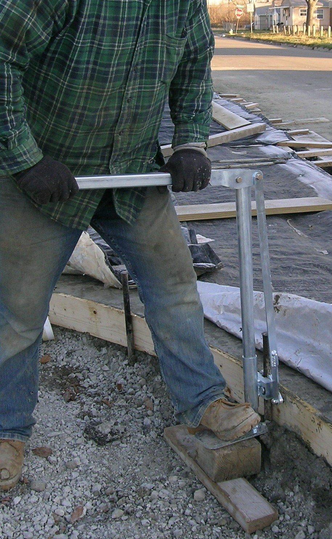 Construction Accessories, Inc. - JACKJAW 200 - JJ0200 Concrete Form Stake Puller by Construction Accessories, Inc.