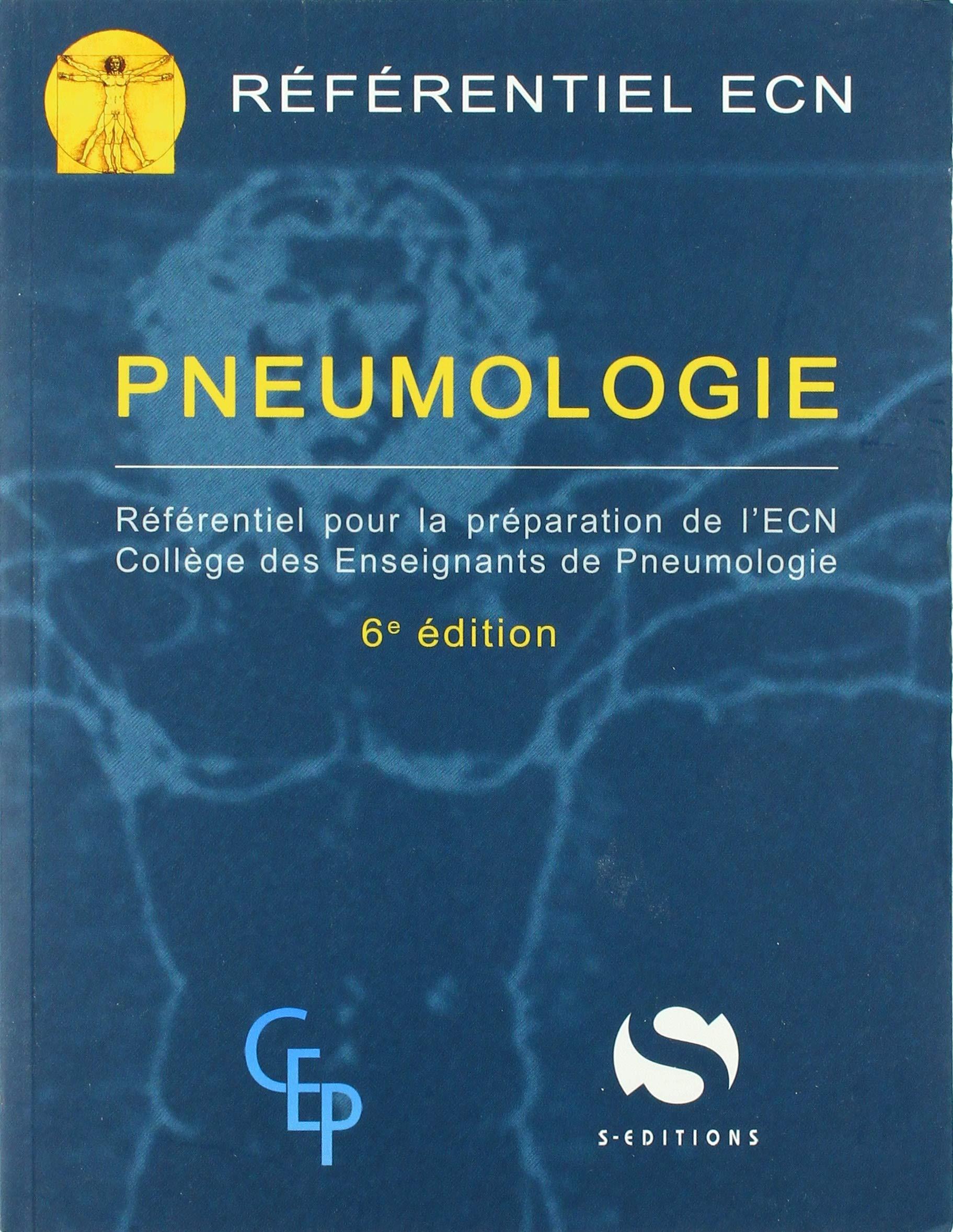 Amazon Fr Pneumologie Referentiel Pour La Preparation De L Ecn Collectif Marquette Charles Hugo Livres