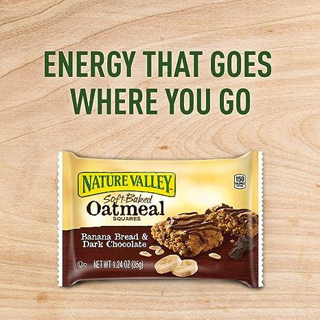 Amazon.com: Nature Valley Soft-Baked Oatmeal Squares, Banana ...