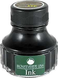 Monteverde USA Ink with ITF Technology, 90 ml Scotch Brown (G308BN)
