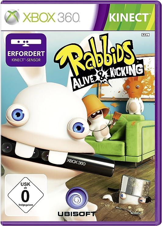 Ubisoft Raving Rabbids Alive & Kicking, Xbox 360, DEU - Juego (Xbox 360, DEU, Xbox 360, Partido, E10 + (Everyone 10 +), Xbox 360): Amazon.es: Videojuegos
