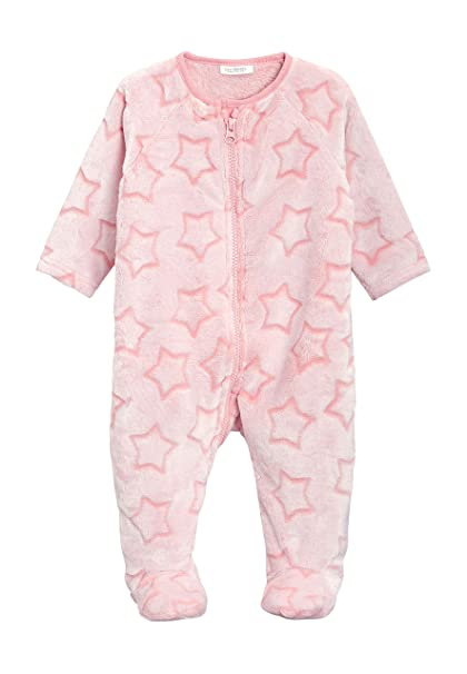 next Bebé-Niñas Pijama Polar Tipo Pelele con Estrella (0 Meses - 3 Años