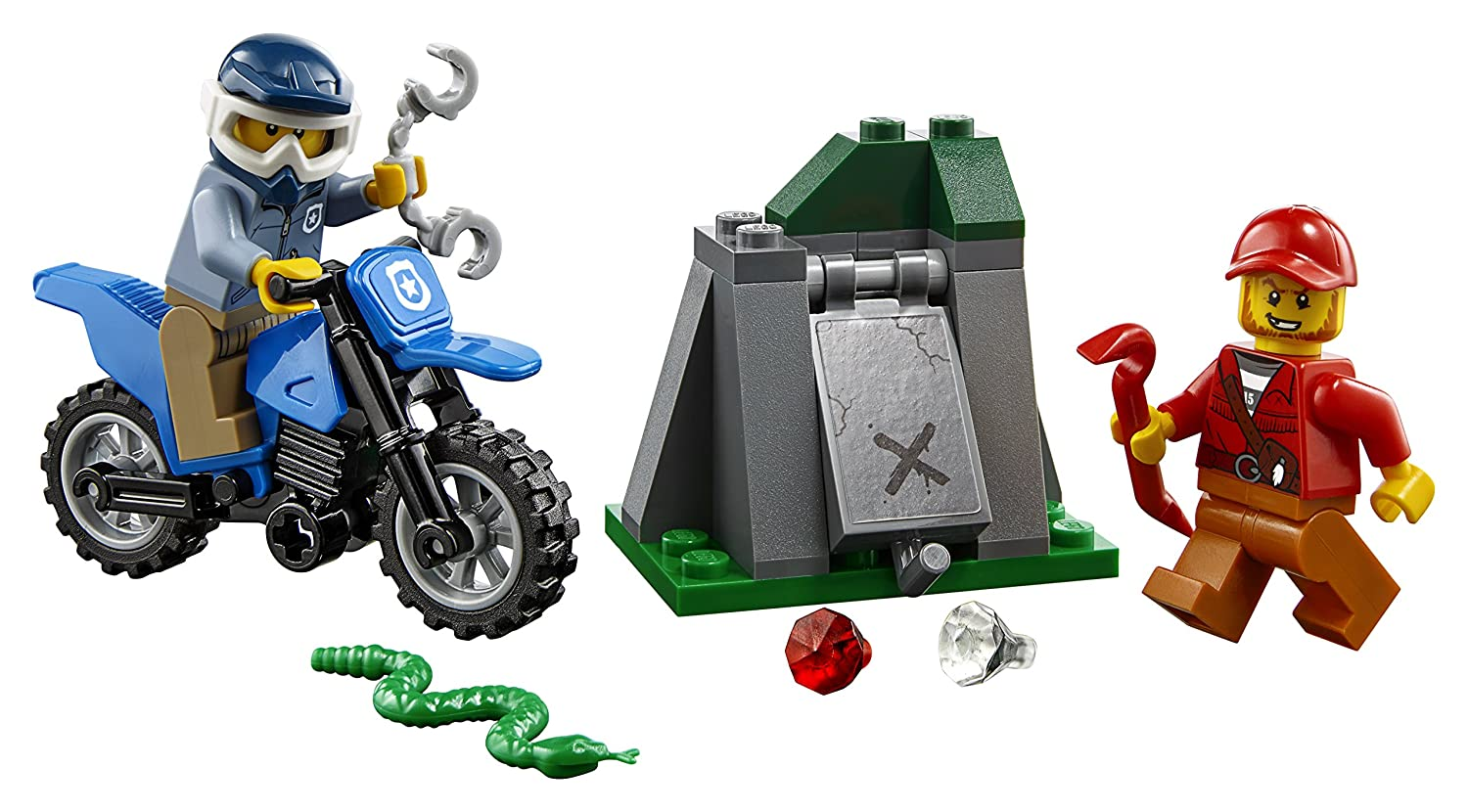 37 Piece LEGO City Off-Road Chase 60170 Building Kit 6210301