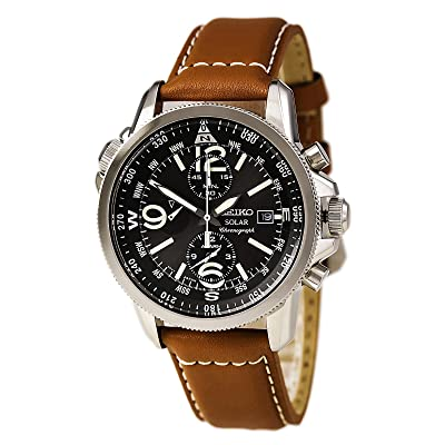 <strong>Seiko Men's SSC081 Adventure-Solar Classic Casual Watch</strong>