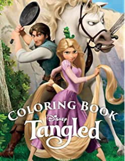 Tangled Coloring Book: Awesome Book for Kids